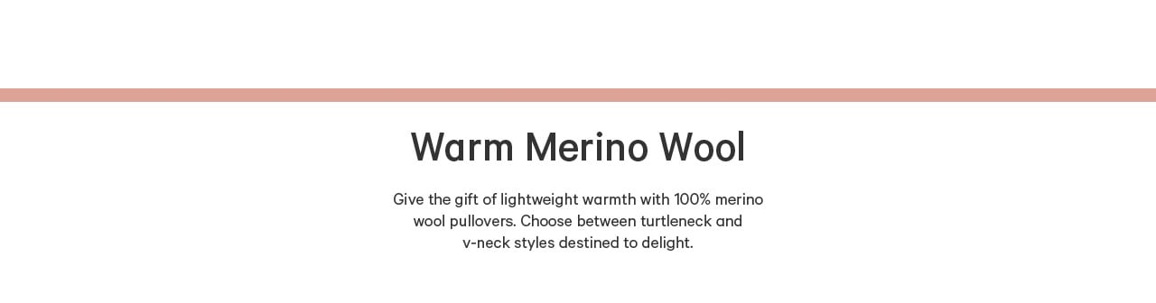 Luxe gifts merino wool.