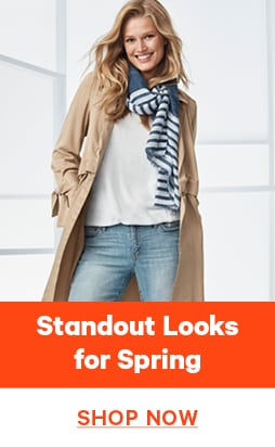 Standout looks for spring. Shop now