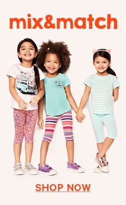 Shop kids mix & match promotion