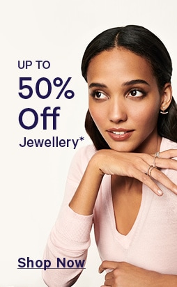 50 percent off jewellery