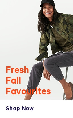 Fresh fall favourites.