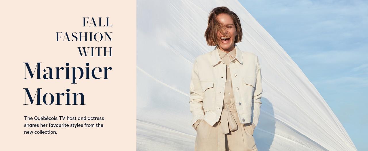 Fall fashion with Maripier Morin