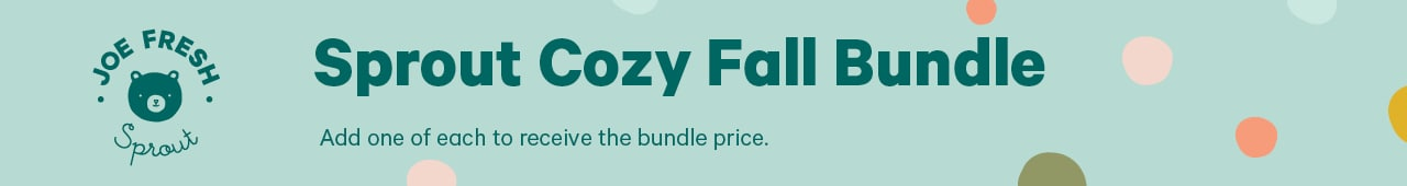 Sprout cozy fall bundle