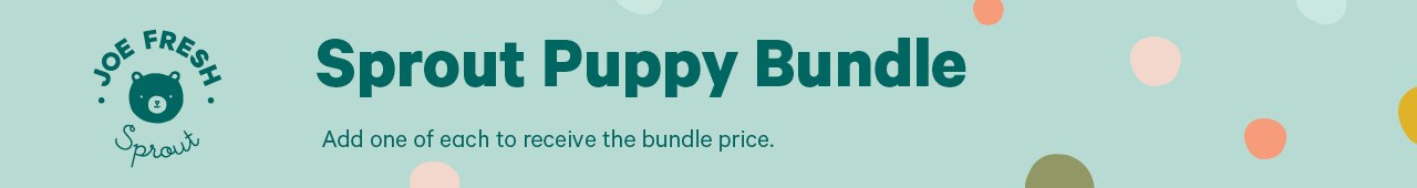Sprout puppy bundle