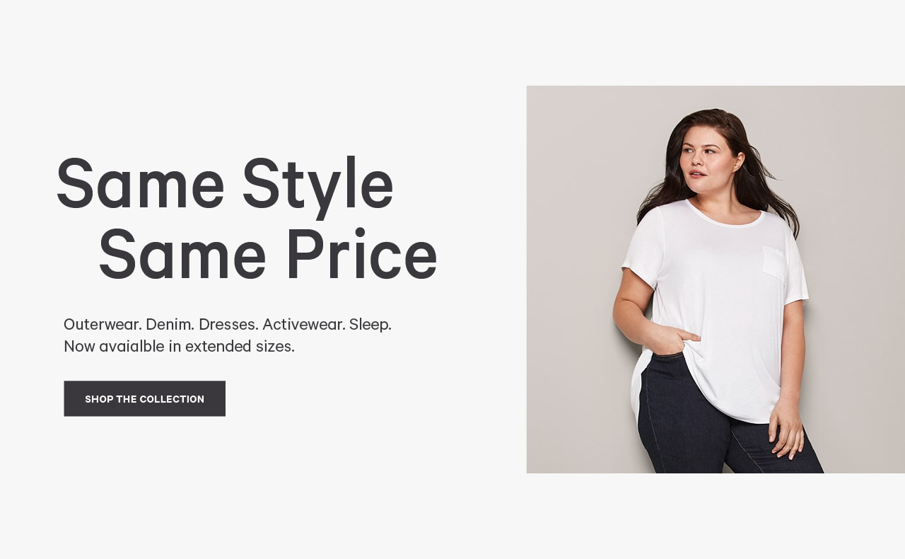 same style same price. Shop women's extended clothing