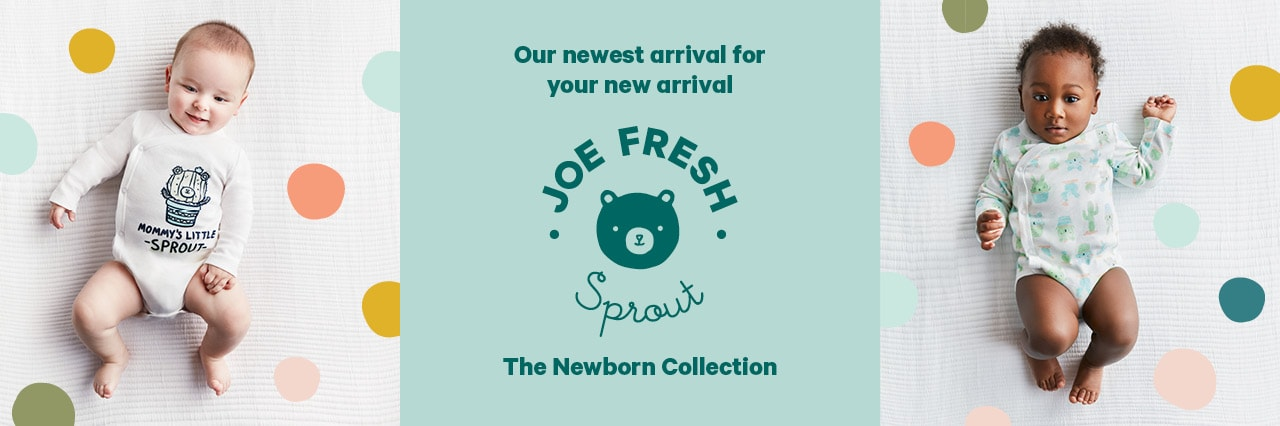 Sprout the newborn collection