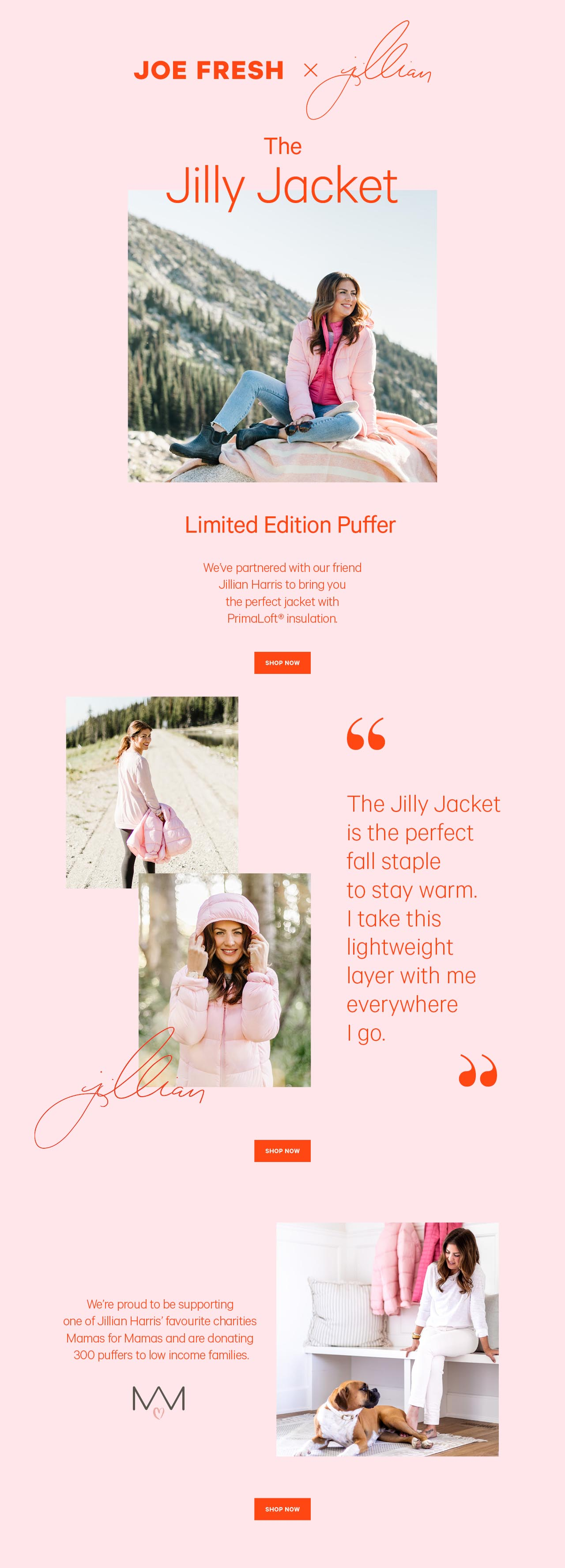 The new jillian harris jacket. Go to: Jilly Jacket