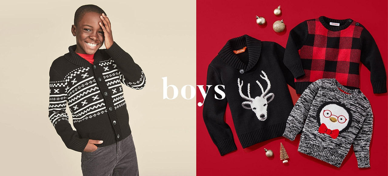 Boys holiday collection