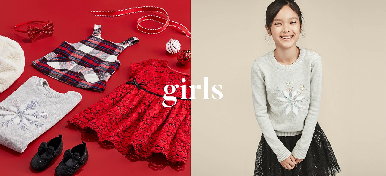 Girls holiday collection