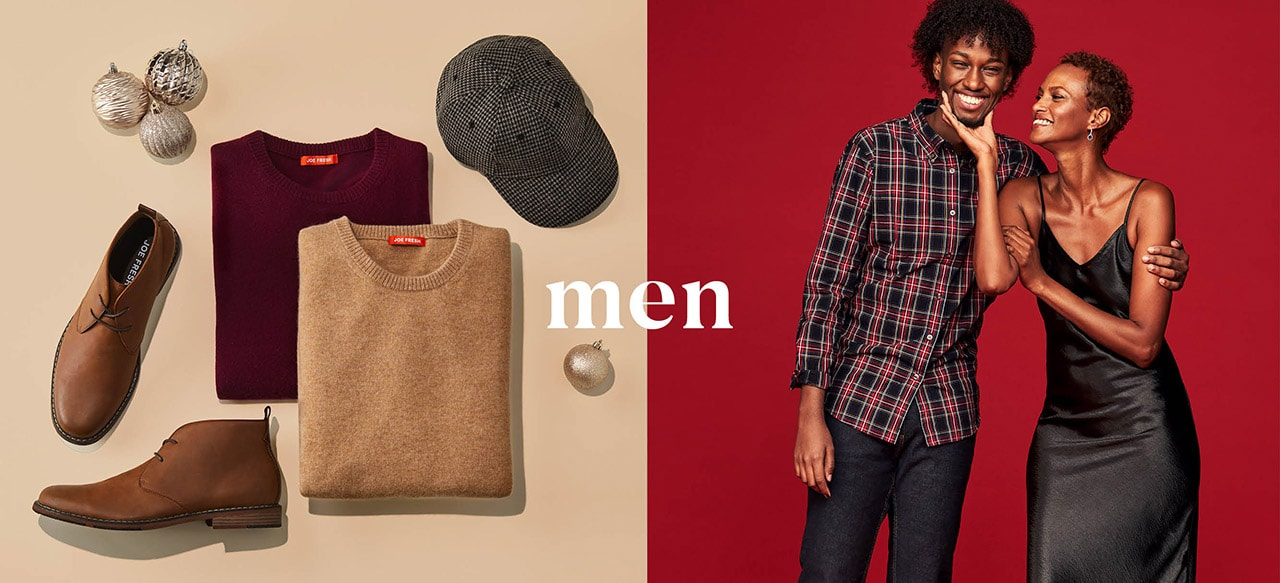 Men's new holiday collection
