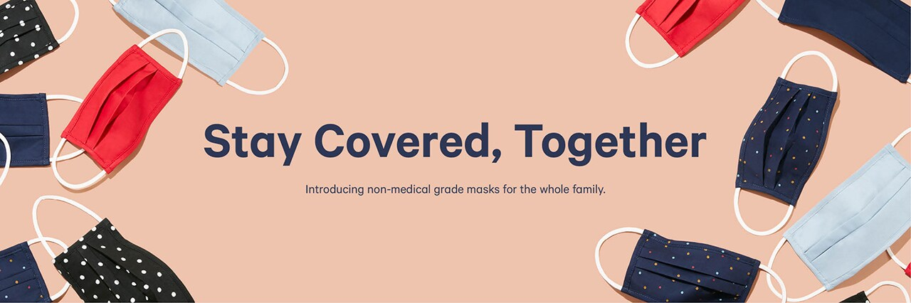 Non-medical masks for the whole family