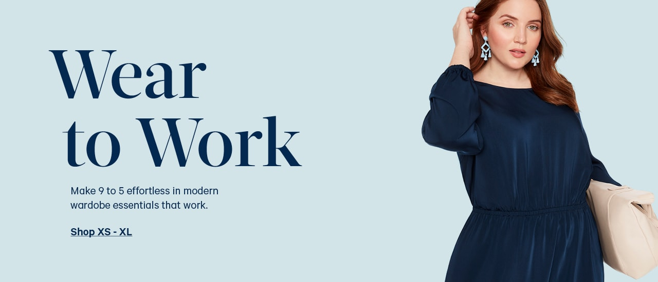 Go to: Womens wear to work clothing