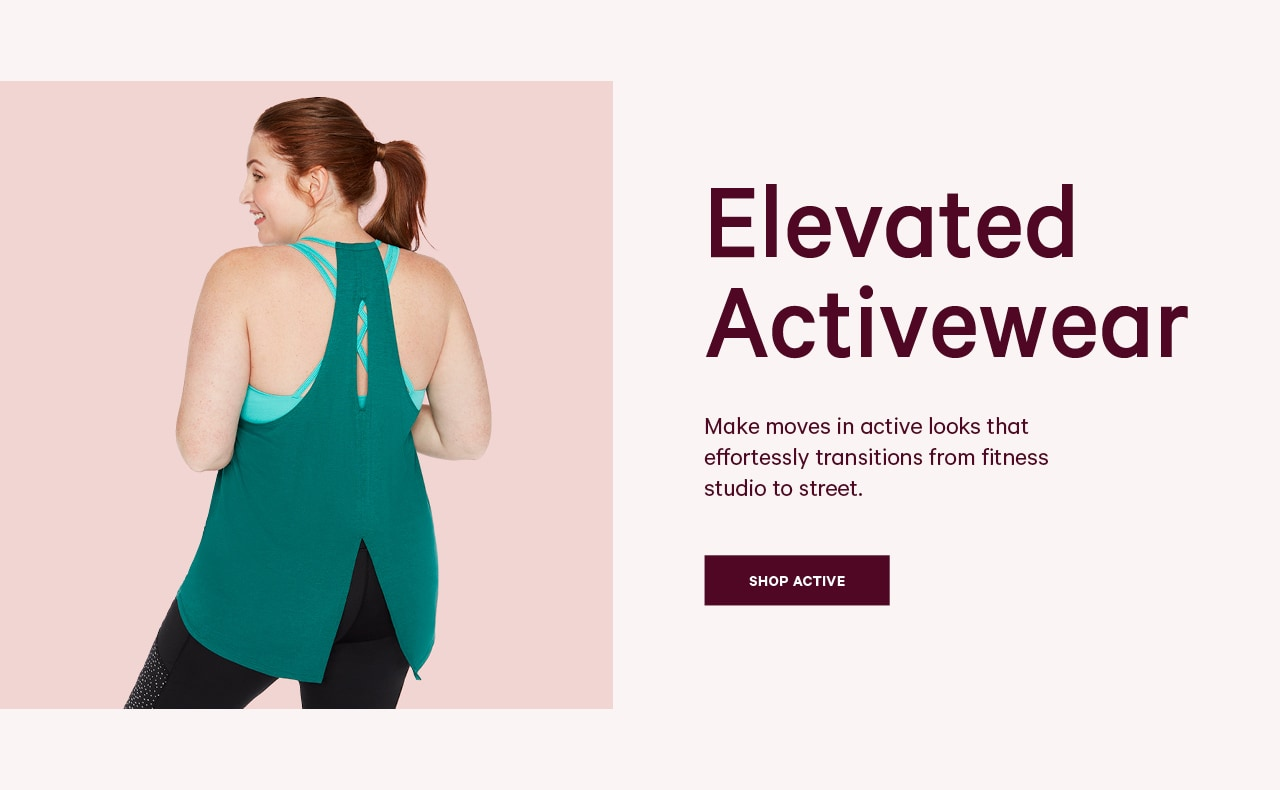 Go to women extended activewear