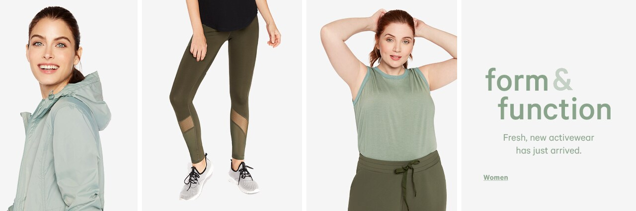 go to womens activewear