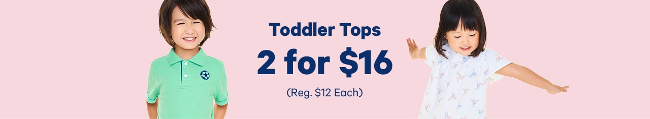 toddler tops 2 for 16 dollars