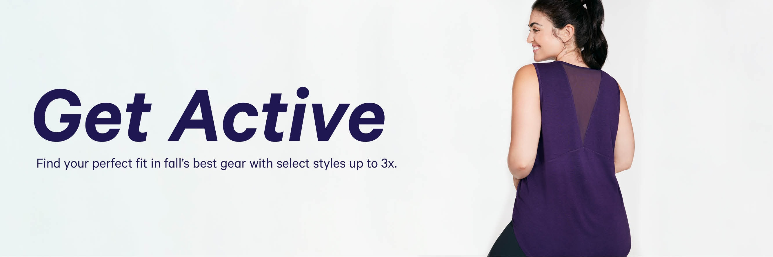 Best fit active gear from styles up to 3x