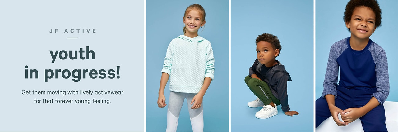 New kids activewear