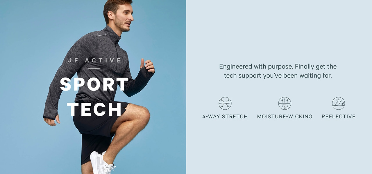 Sport tech you have been waiting for. New activewear