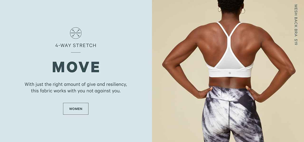 Go to women's activewear