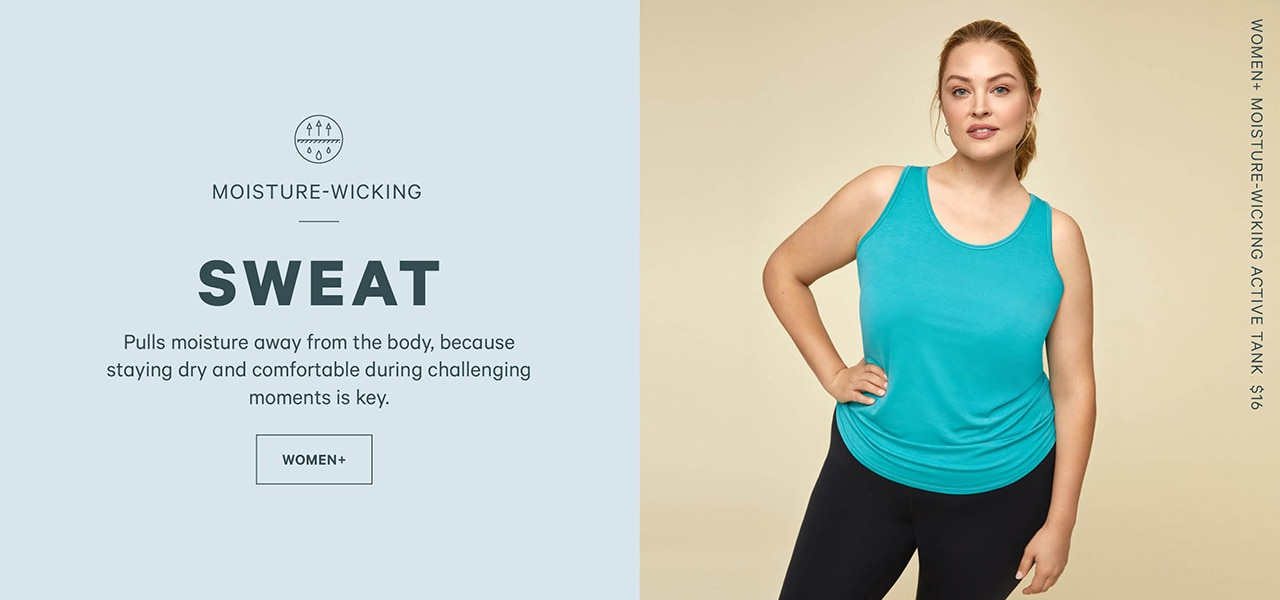 Go to women plus activewear
