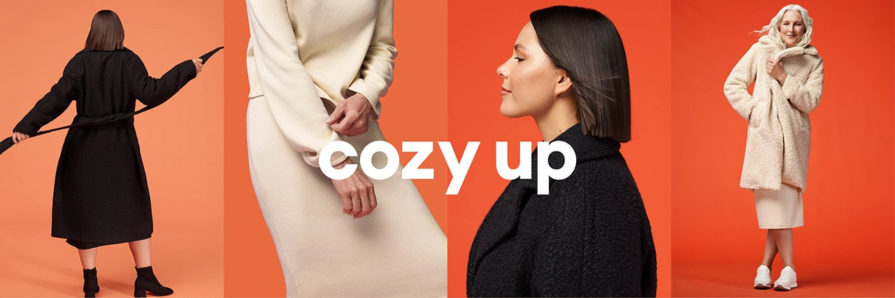 Cozy up. Women's new fall arrivals.