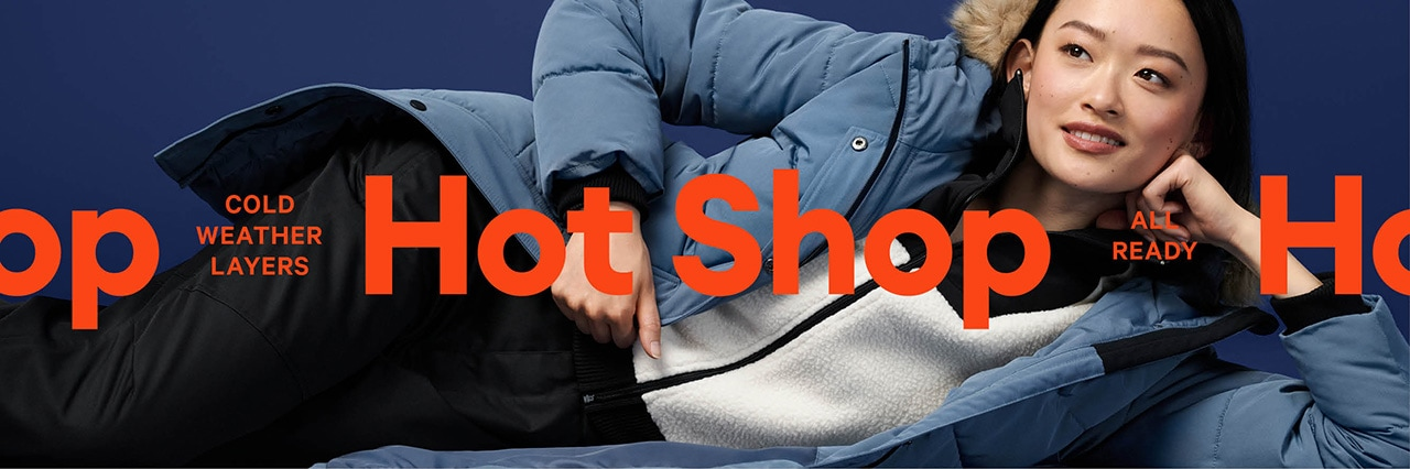 Cold weather shop for adults.