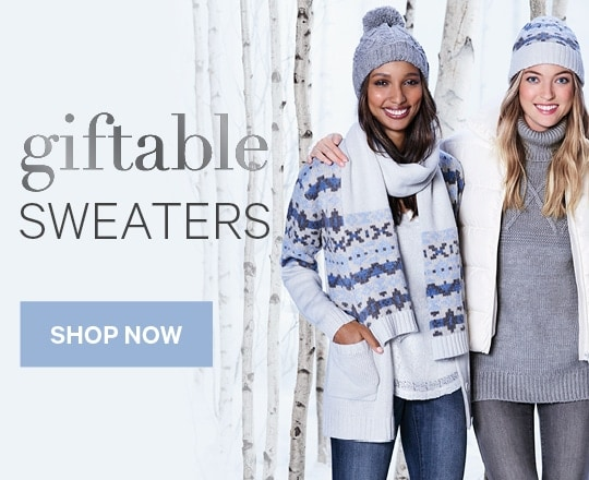 Giftable Sweaters for Men, Women, and Kids