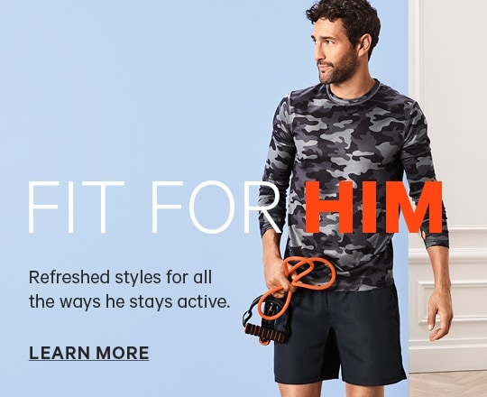 Fit for Him Mens Activewear