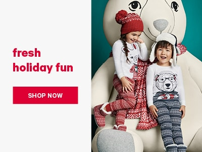 Fresh Holiday Fun. Shop Kids Holiday