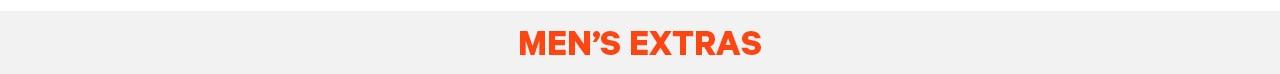 Men's Extras