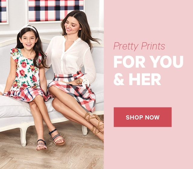 Pretty Prints for You & Her Shop Now