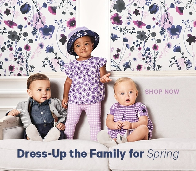Dress-Up the Family for Spring Shop Now