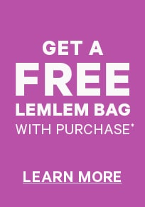 Get a free lemlem bag with purchase learn more