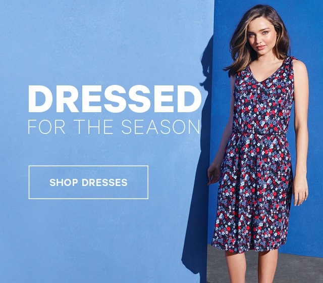 Dressed for the Season Shop Dresses