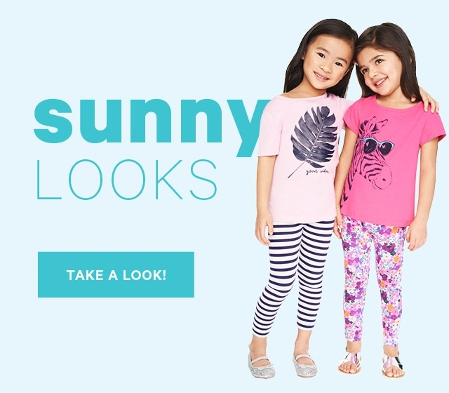 Sunny Looks Take a Look!