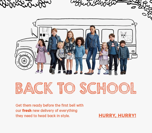 Back to School Hurry, Hurry!