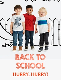 Back to School Hurry Hurry!