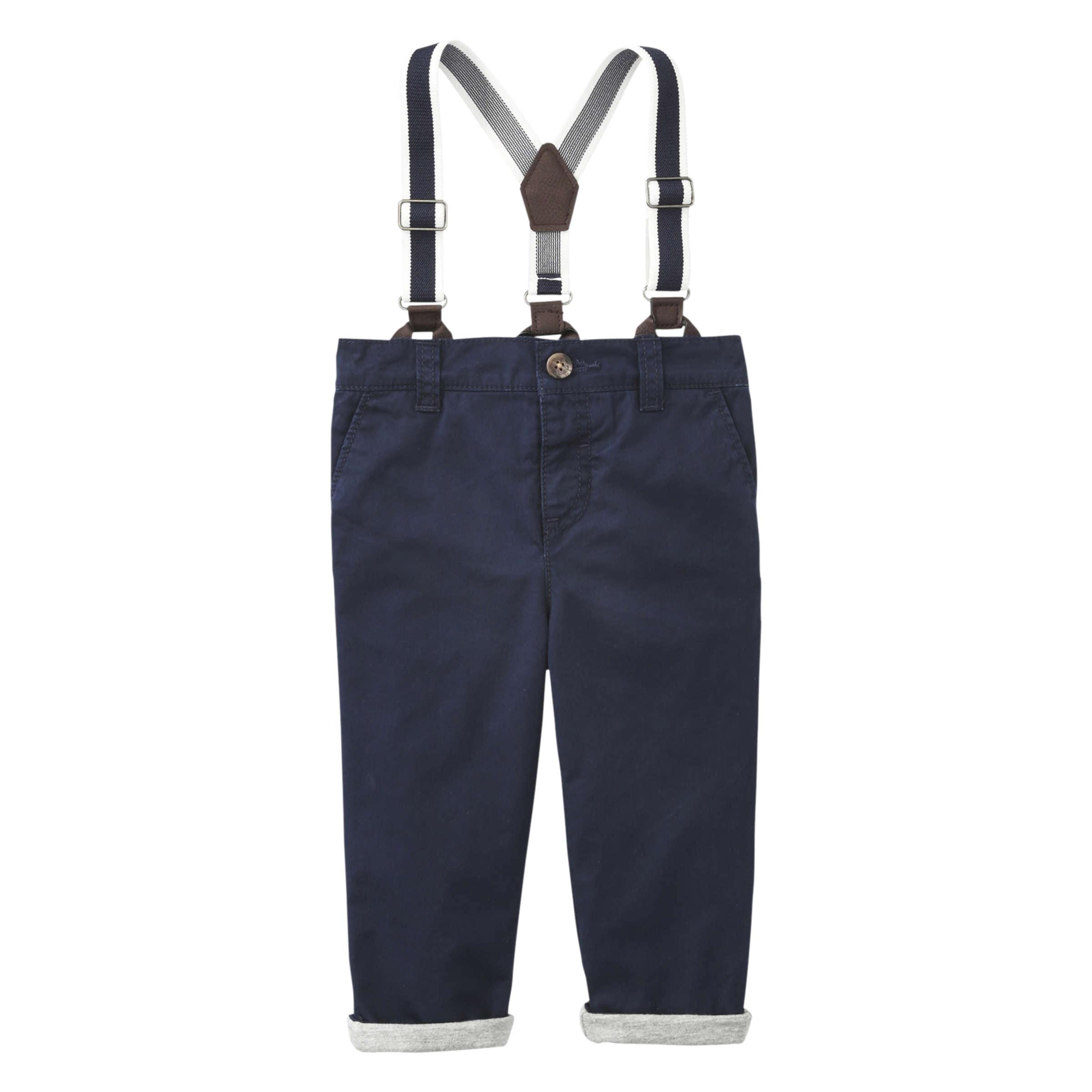 3333fe5513421 Joe Fresh Baby Boys' Suspender Pant