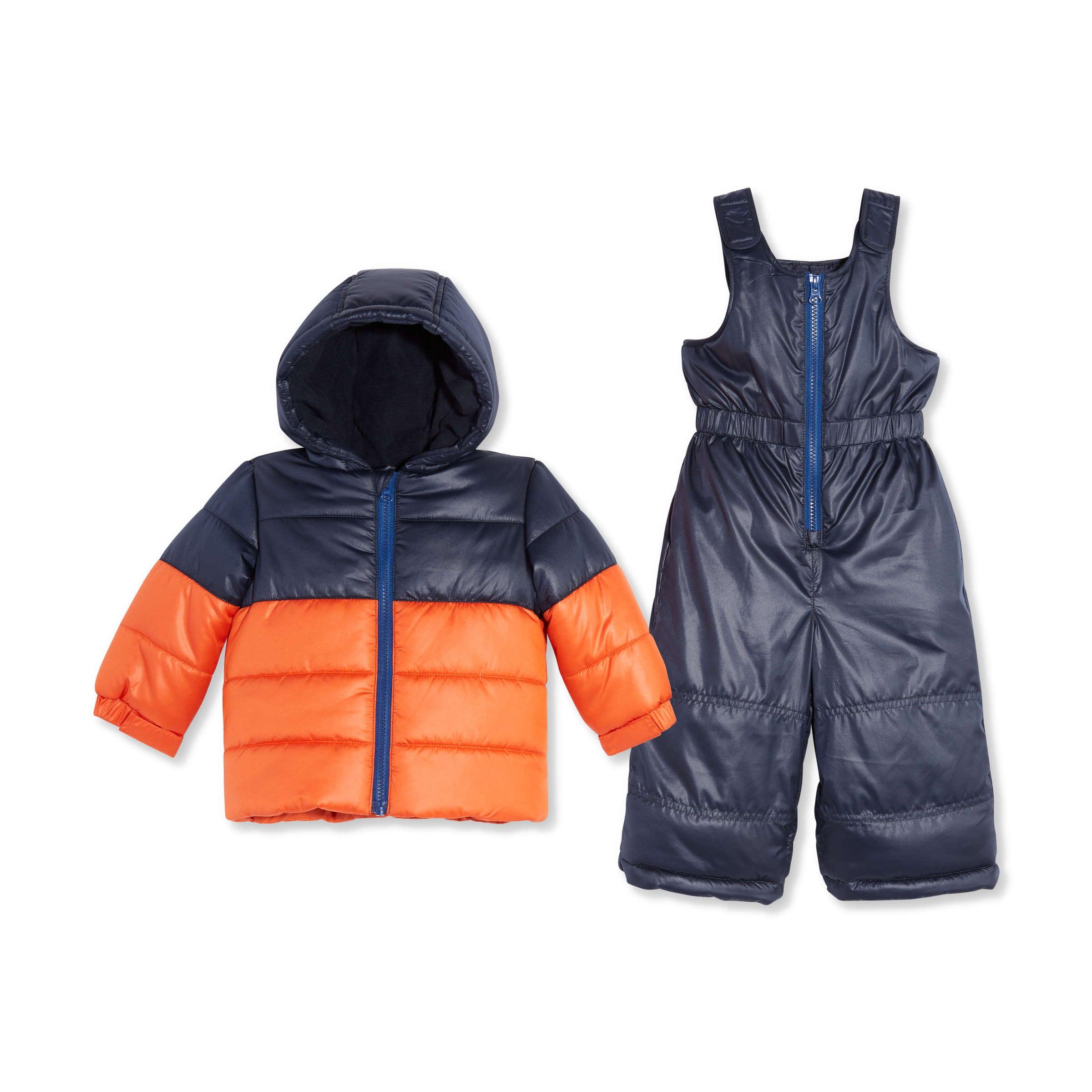 afb2b10da Baby Boys  2 Piece Snowsuit Set in Orange from Joe Fresh