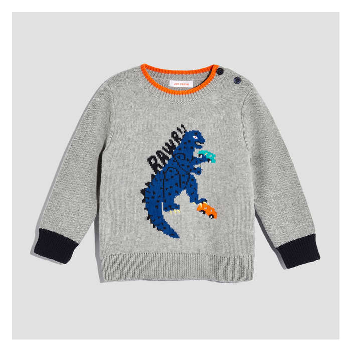 Baby Boys' Monster Graphic Sweater