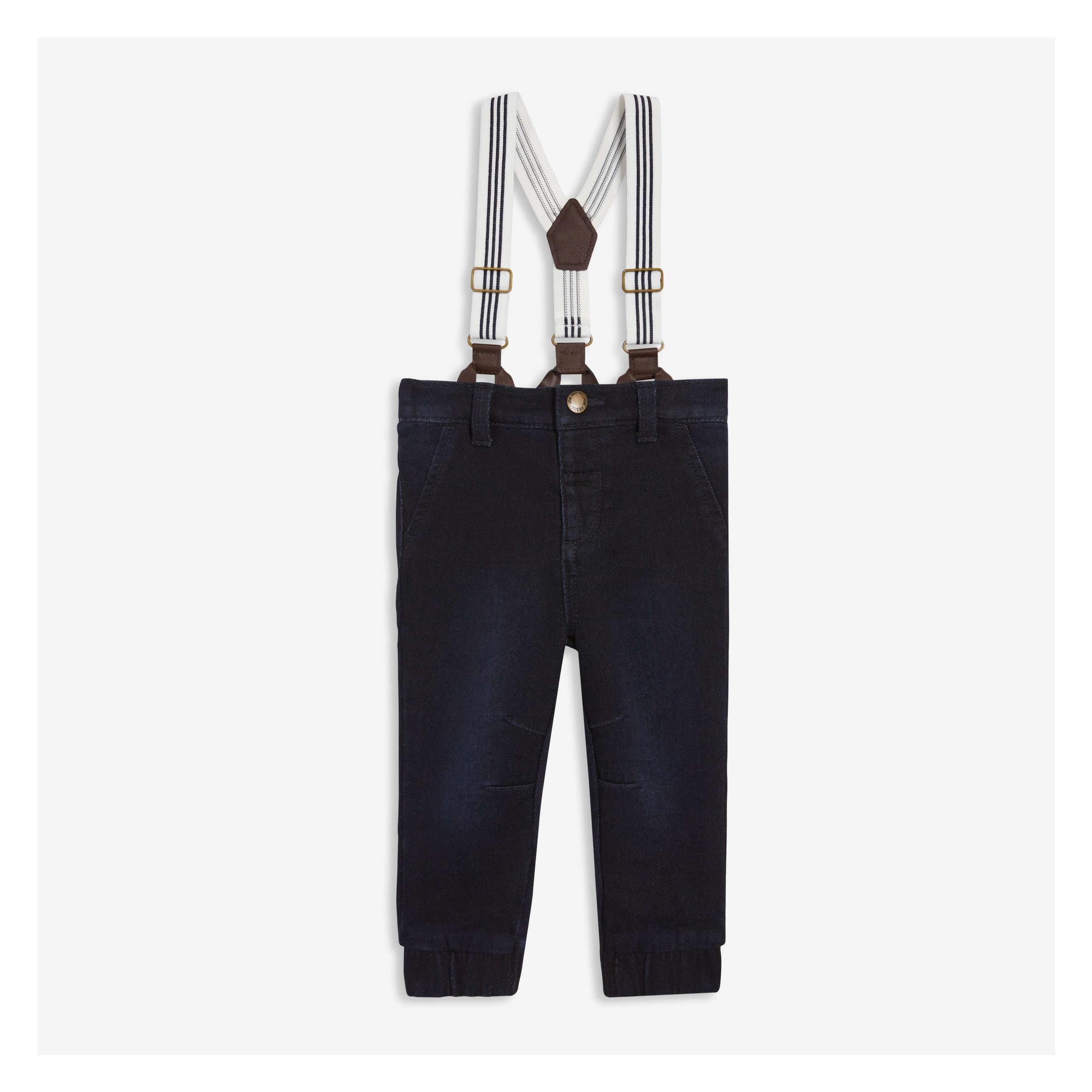 bb95bf896f56c Joe Fresh Baby Boys' Pant with Suspenders