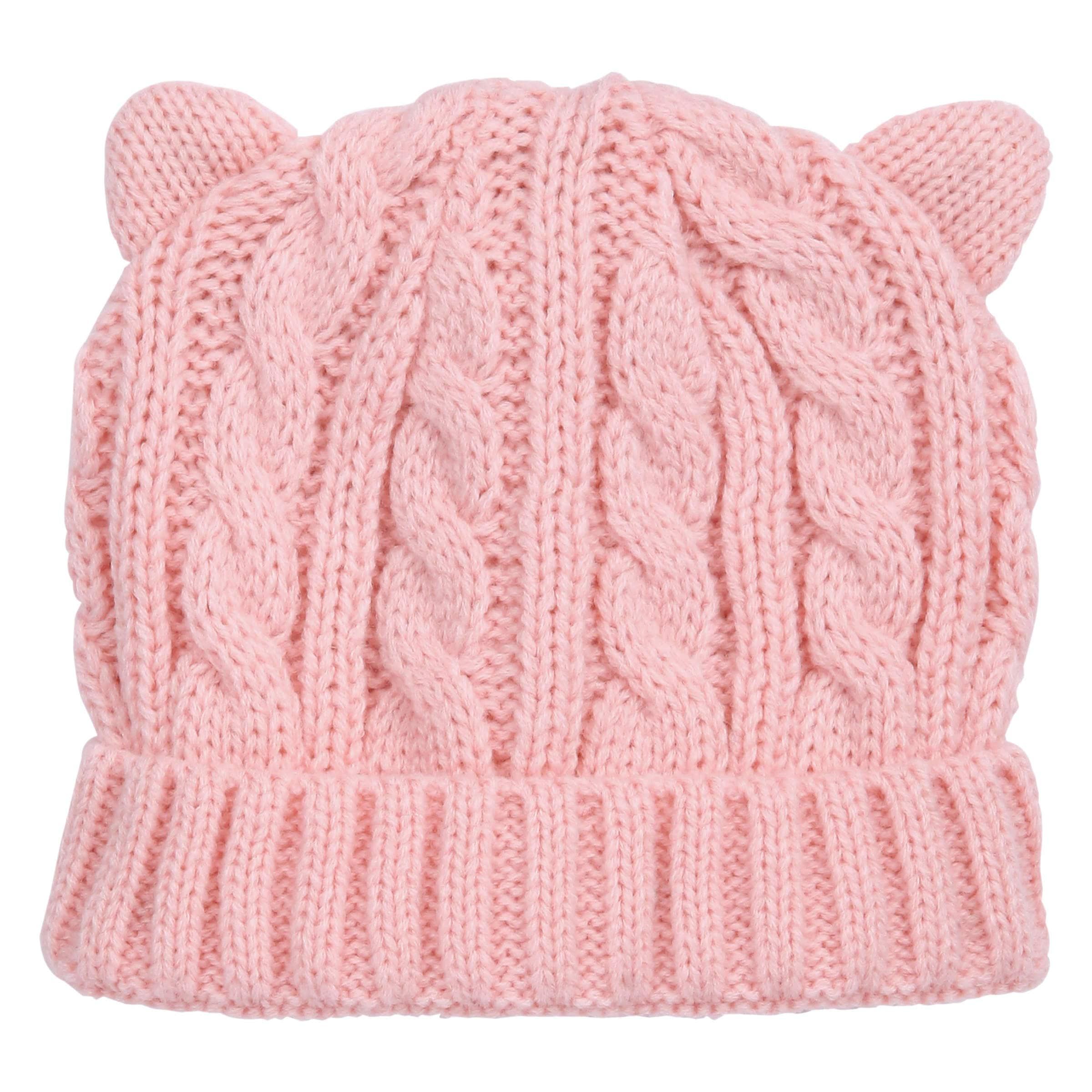 b1390d946ae Baby Girls  Animal Ear Hat in JF Perennial Pink from Joe Fresh