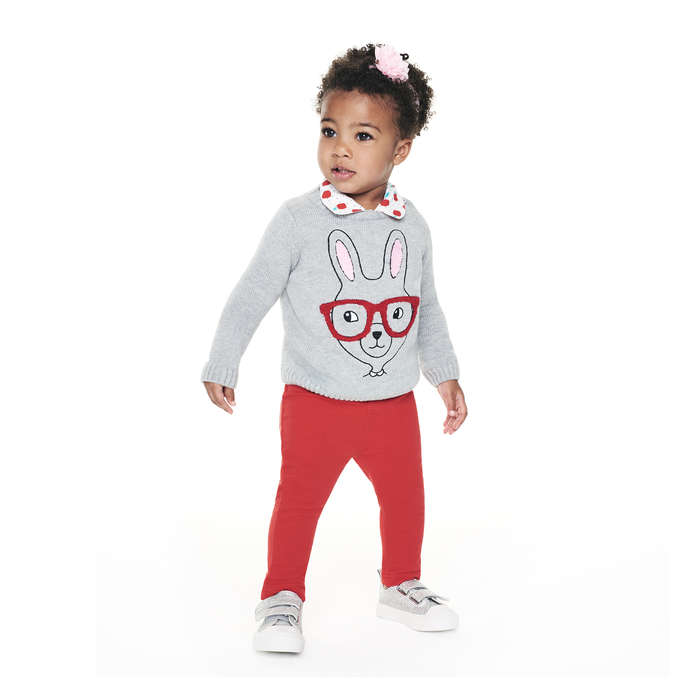 Baby Girls' Pull-On Pant