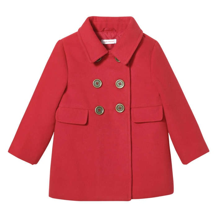 Baby Girls' Double Breasted Coat