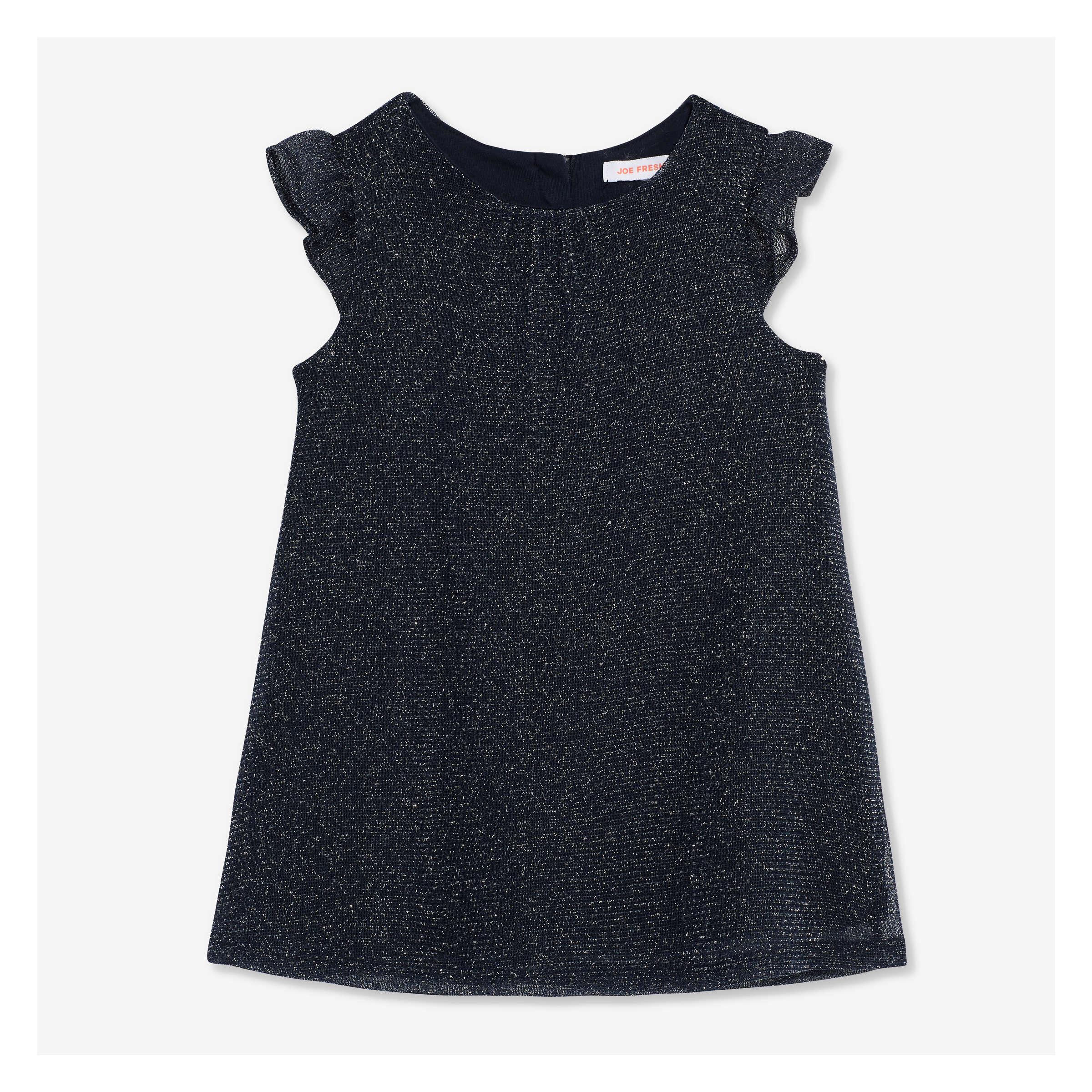 d429b5a82 Baby Girls  Sparkle Dress in JF Midnight Blue from Joe Fresh