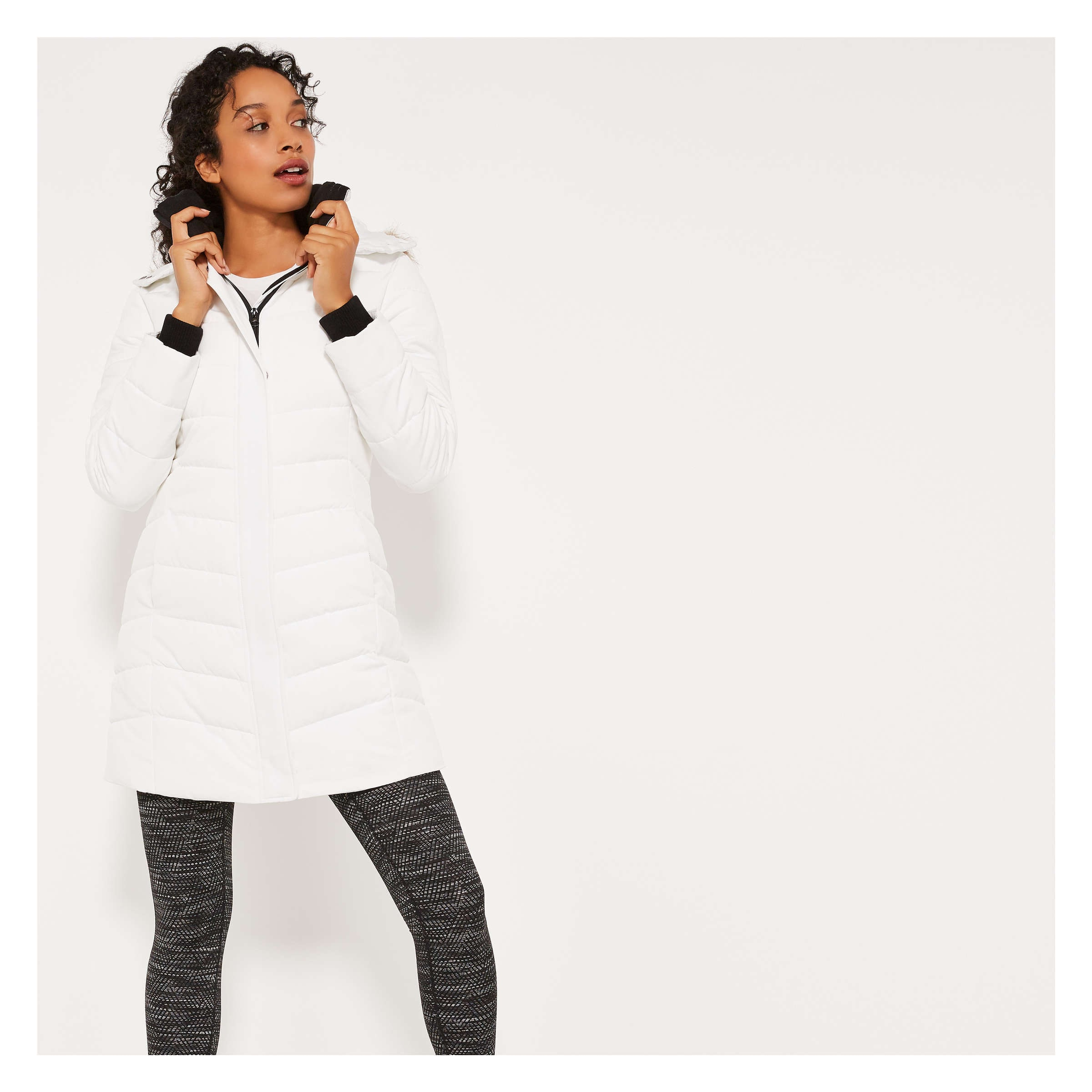 Prima Loft® Hooded Parka by Joe Fresh