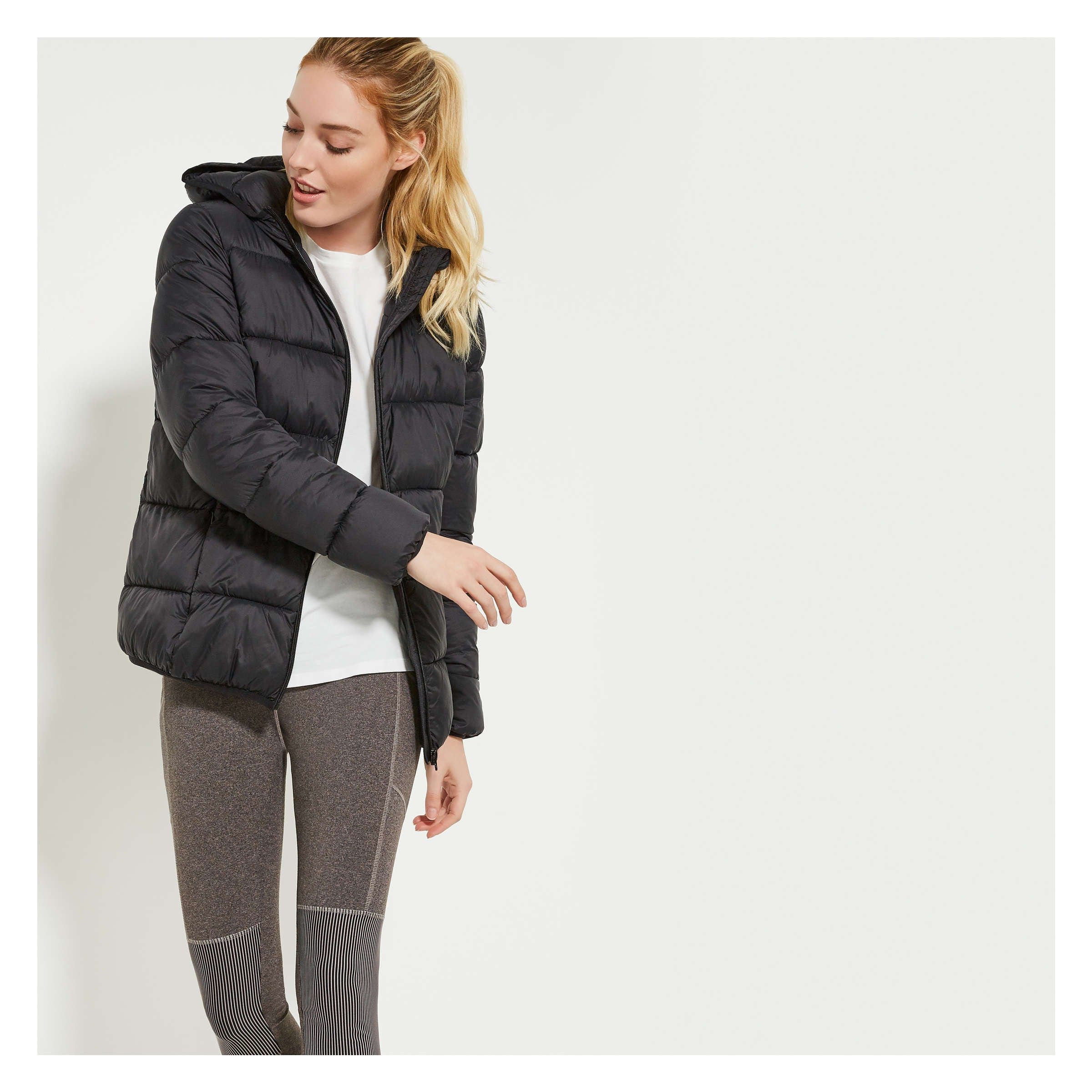 Prima Loft® Hooded Puffer Jacket by Joe Fresh