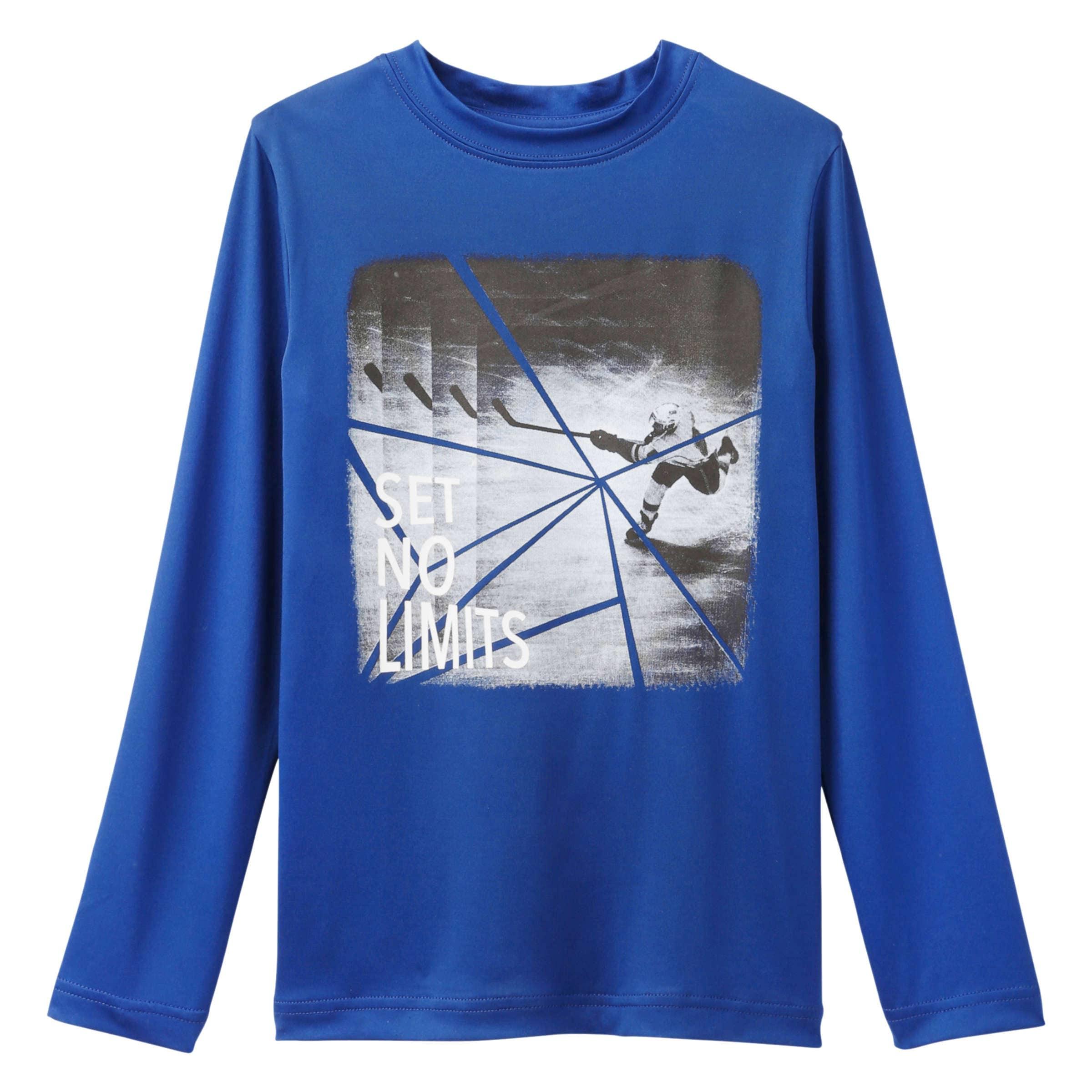 ae7181f9 Kid Boys' Graphic Long Sleeve Tee in Blue Jay from Joe Fresh