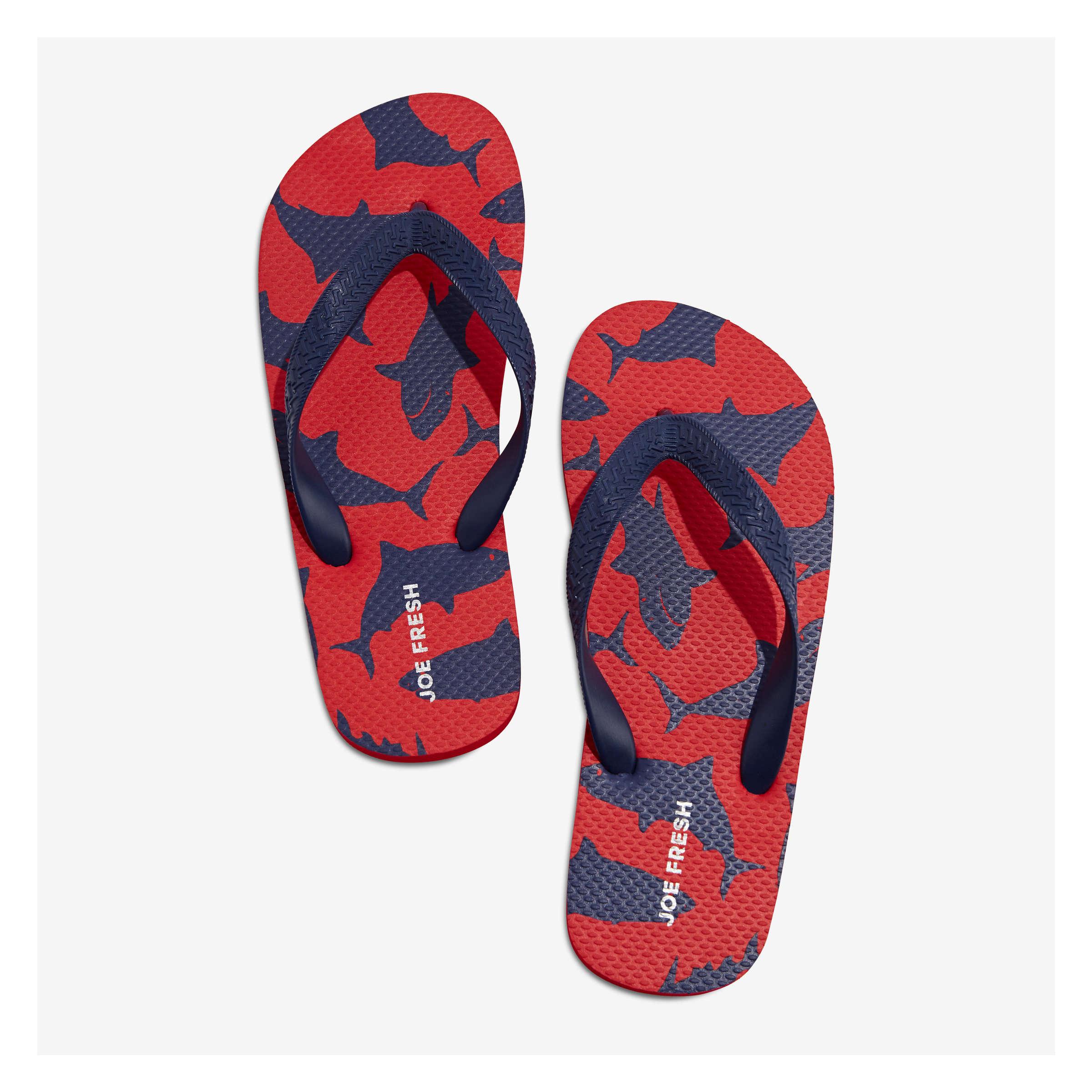 09097ac38 Kid Boys  Flip Flops in Red from Joe Fresh