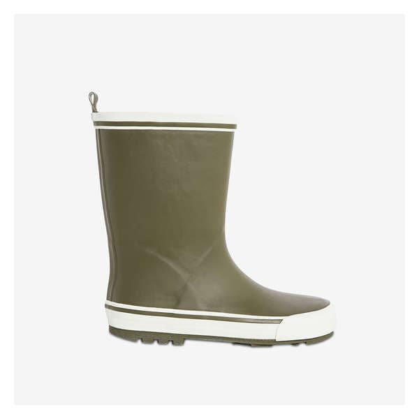 5ccd063d5 Kid Boys' Rubber Rain Boot